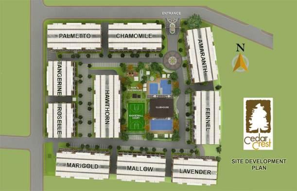 cedar-site development plan