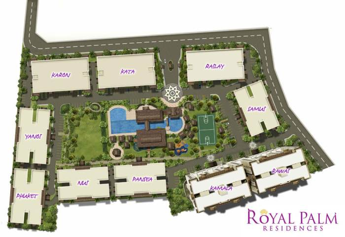 Royal Palm residences site dev plan