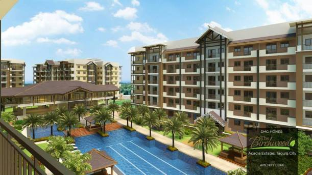 The Birchwood amenity core in Acacia Estates