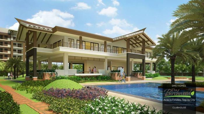 The Birchwood clubhouse in Acacia Estates by DMCI Homes