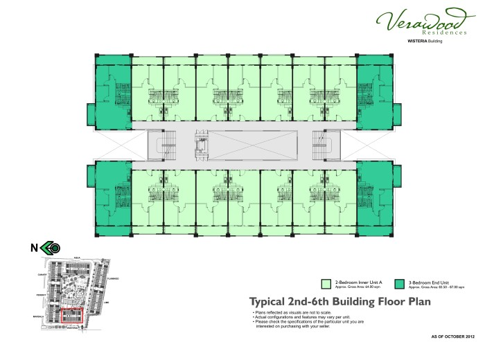 Verawood typical 2nd-6th bldg plan verawood