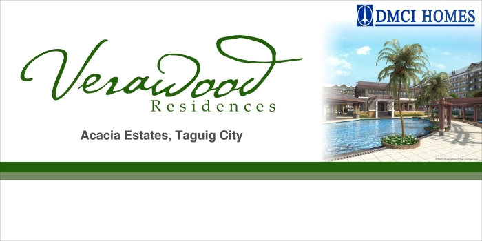 Verawood Residences in Acacia Estates, c5 taguig