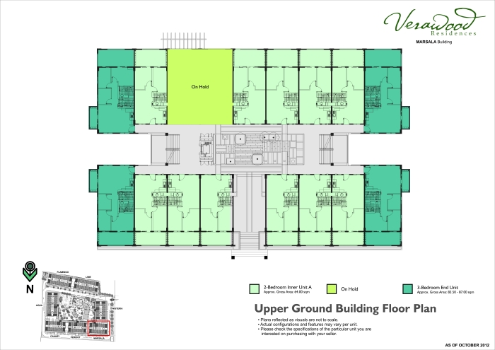 Verawood upper ground bldg floor plan marsala