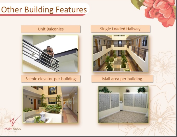 Ivory Wood Acacia Estates Building Features
