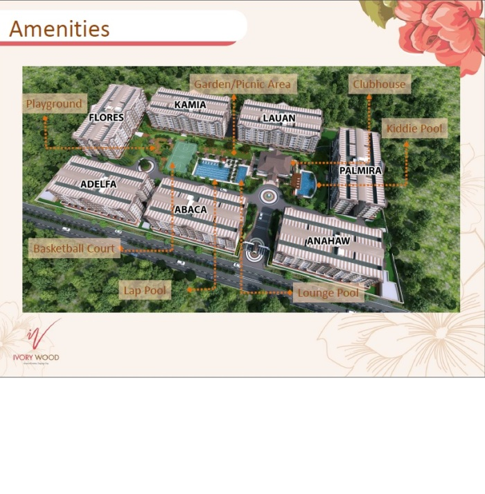 Ivory Wood Amenities