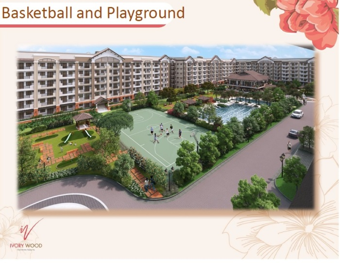 Ivory Wood Basketball and Playground