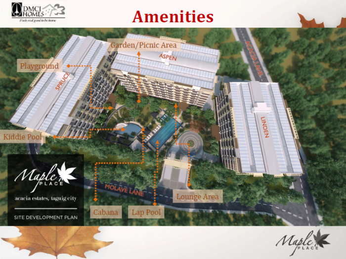 Maple Place amenities