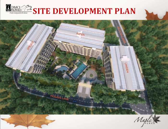 Maple Place Site Development Plan